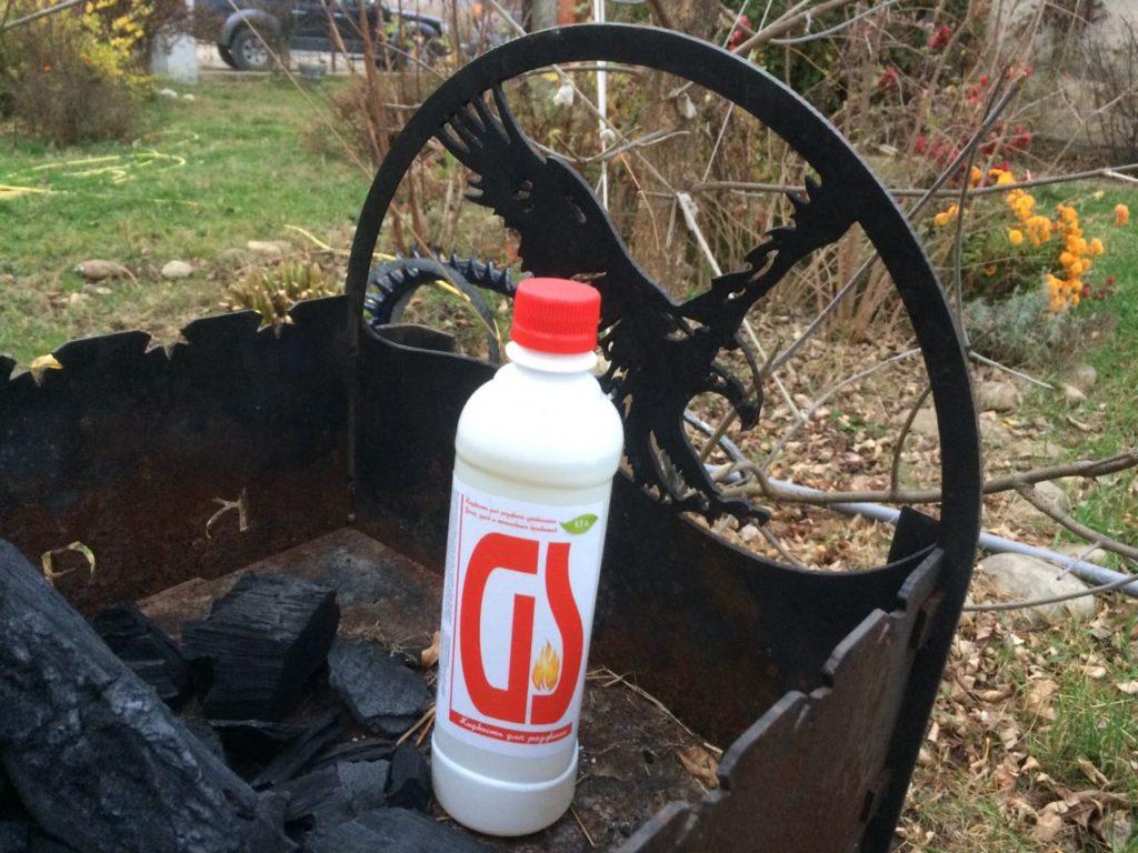 Жидкость для розжига углей GS